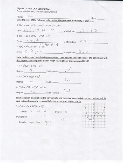 Algebra 2 Worksheets With Answer Key by Algebra 2 Worksheet Answers