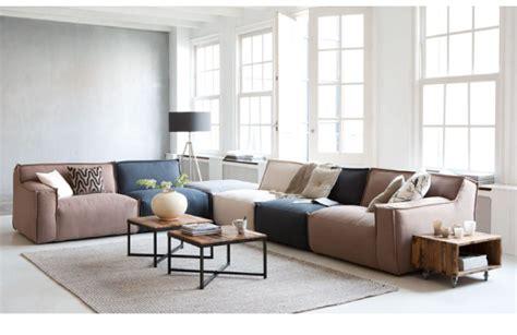 Sofa Merk Ikea flexibel zitten met een modulaire bank