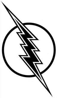 Flash Lightning Bolt Outline by Lightning Bolt Coloring Pages Cliparts Co