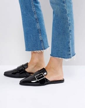 Trim Patent Flat Sandal By Asos by S Flat Shoes Ballet Pumps Brogues Asos
