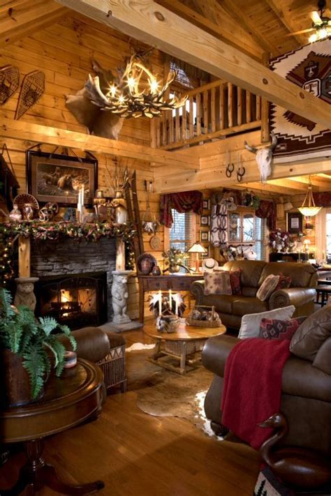 rustic and cosy cabin decor panda s house cozy cabin holiday gift guide winter house log cabin
