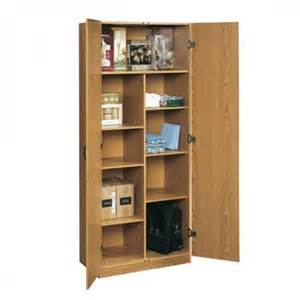 oak home or office storage cabinet organizer great as a