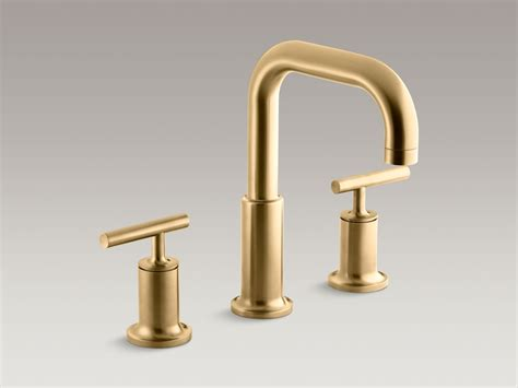 wide set bathroom faucets kohler brass bath faucets