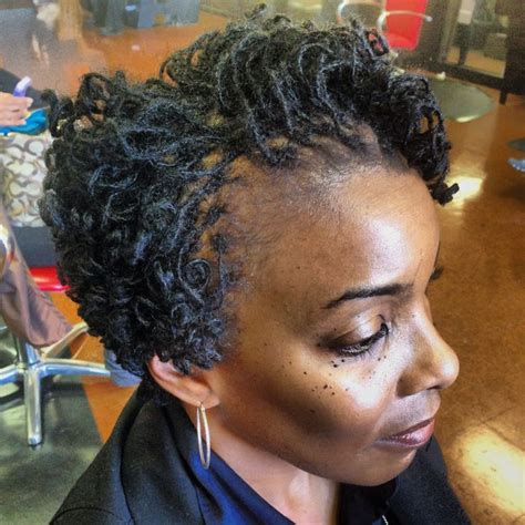 rodded bob hairstyles sisterlocks tightened and rodded by takeisha at a natural