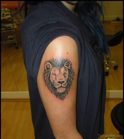 lion shoulder tattoo tattoos designs pictures page 4