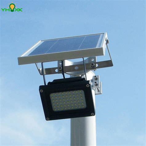 best solar led flood lights waterproof outdoor solar floodlight 54 led spotlight