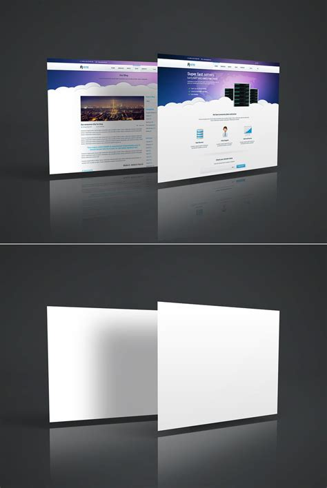web design mockup presentation free web page mockup freebies 3d display free graphic