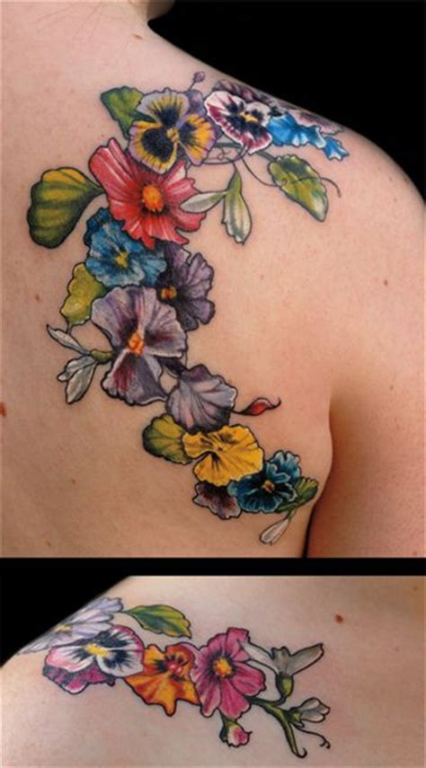 pansy flower tattoo best 25 pansy ideas on small flower