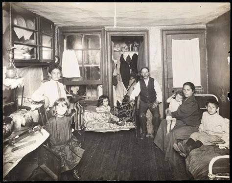 tenement houses museum of the city of new york family in room in tenement house