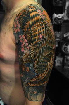 yakuza eagle tattoo yakuza tattoo sleeve 3d chest saratattooimages
