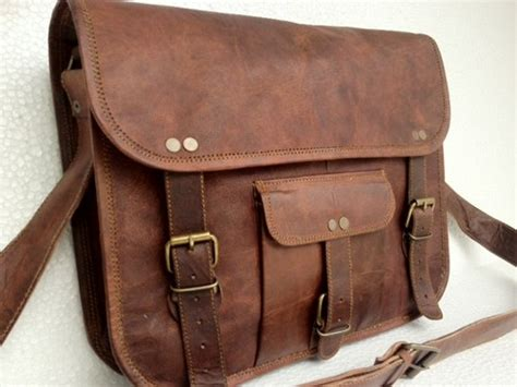 Tas Laptop Macbook Laiwong Kulit 13 Brown Free Pouch 1 passionleatherbykomal on artfire