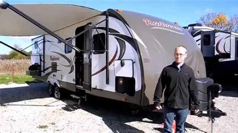 travel trailer removal new 2015 cruiser rv radiance 28qbss cer travel trailer