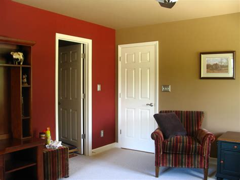 two color walls bedroom home paint color walls two color for wall home combo