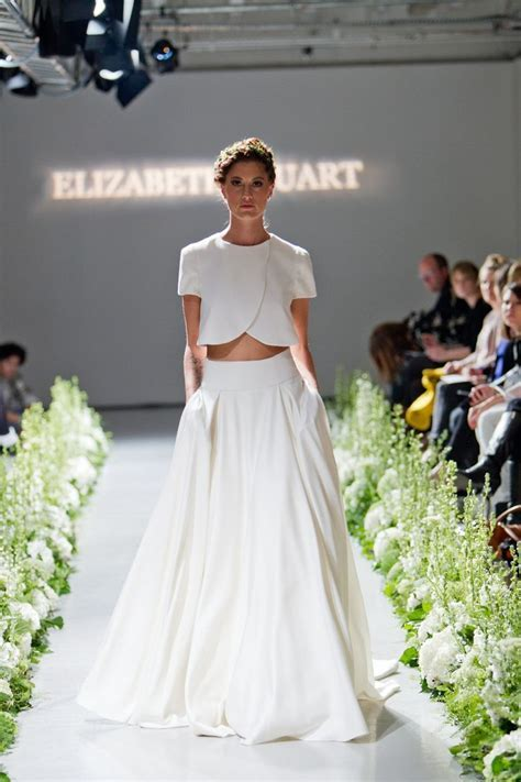 27 best images about Crop Top Wedding Dresses on Pinterest