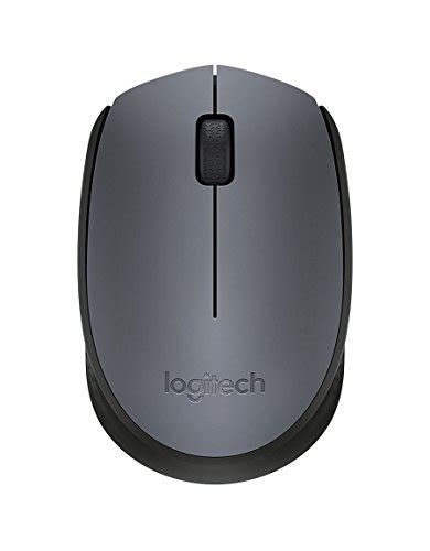 Terlaris Logitech Wireless Usb Mouse M170 logitech m170 wireless mouse grey