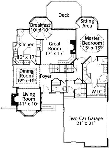 english cottage 43001pf 1st floor master suite corner cozy english cottage 56104ad 1st floor master suite