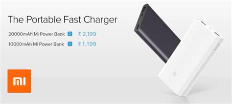 Power Bank Vizz 10 000mah Original Fast Charging Real Capacity xiaomi mi deal xiaomi mi power bank 2 10 000mah with fast charging at rs 1 199 february 2018