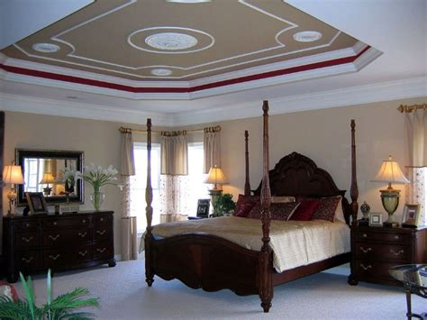 20 Elegant Modern Tray Ceiling Bedroom Designs Ceiling Bedroom Design