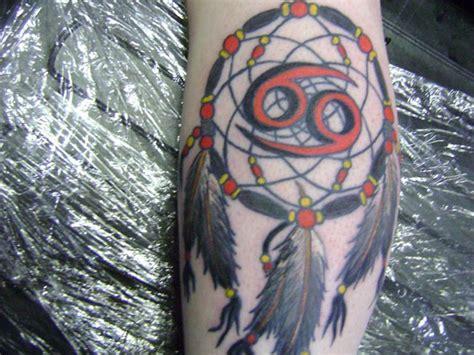 dreamcatcher zodiac cancer zodiac dream catcher tattoo design tattooshunt