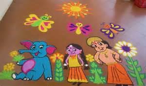 Home Decoration During Diwali cartoon rangoli designs rangoli rangoli designs