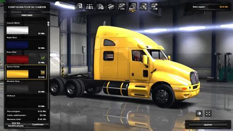 t2000 kenworth truck parts kenworth t2000 edited 187 truck simulator mods