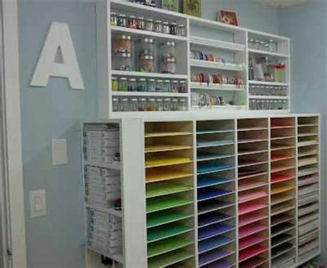 craft room paper storage craft room ideas craft spaces