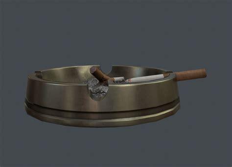 3d model art deco style vr ar low poly fbx c4d stl dae 3d model art deco ashtray vr ar low poly obj fbx tga