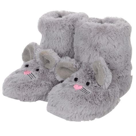 rabbit skin slippers faux fur rabbit booties slippers with ears non