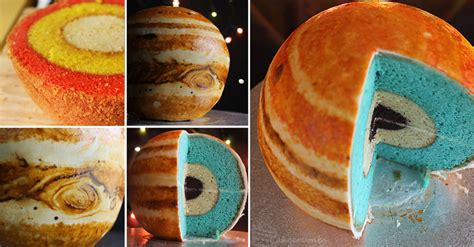cake planets cooking handimania