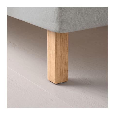 ikea bed legs burfjord leg oak 20 cm ikea