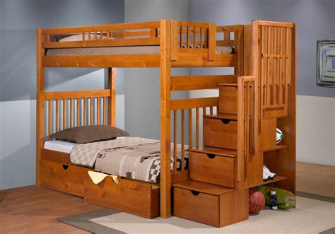This staircase bunk is a new addition to our kids bed shop