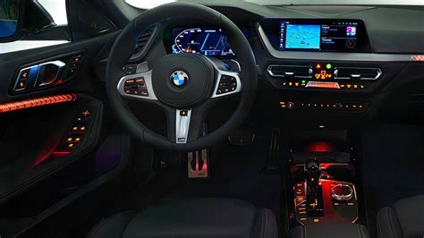 bmw  series gran coupe interior features youtube