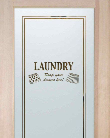 Laundry Room Doors Frosted Glass by Laundry Room Doors Room Doors And Etched Glass On