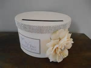 items similar to glam wedding card box card box custom wedding reception card boxes
