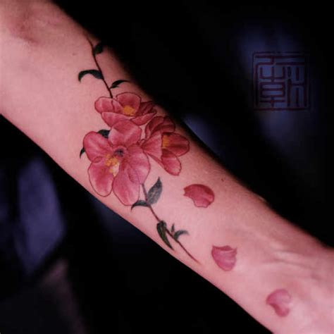 forearm flower tattoo 50 cool forearm tattoos for