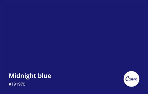 midnight color midnight blue meaning combinations and hex code canva