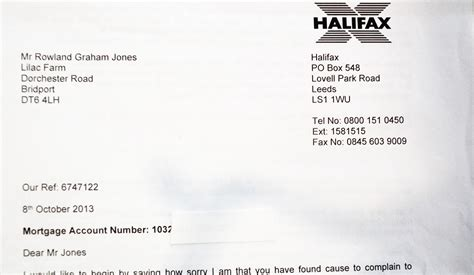 Loan Facility Letter Of Offer mortgage offer letter halifax 28 images insurance pre