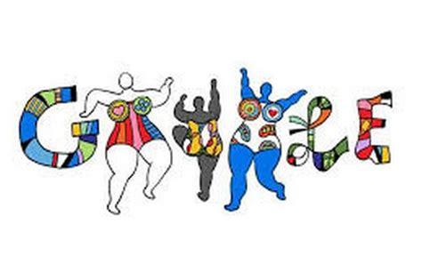 doodle logo maker niki de phalle doodle celebrates birthday of