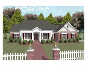 Large One Story Homes by The House Plan Shop