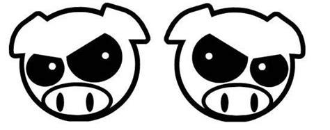 Jdm Sticker Angry Pig angry pig jdm racing die cut vinyl sticker decal