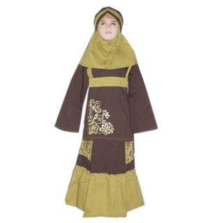 aneka busana muslim murah stelan baju anak2 cewek