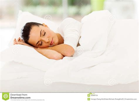 woman sleeping in bed woman sleeping bed stock images image 32666154