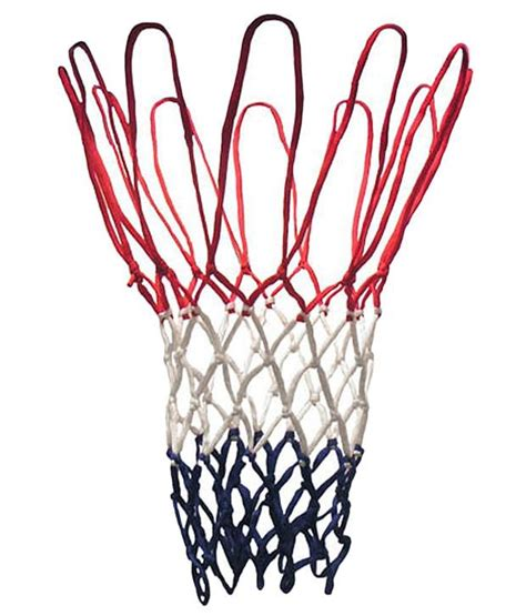 How To Make A Basketball Net Out Of Paper - sahni sports basketball net tri colour pack of 2 buy