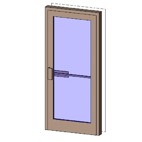 Revitcity Com Object Single Exterior Aluminum Door Aluminum Doors Exterior