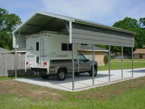 Rv Shade Awning Tent Rv Carports Amp Rv Metal Buildings Steel Building Garages