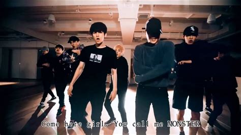 tutorial dance exo monster exo monster dance practice ver korean ver 練習室 繁中字