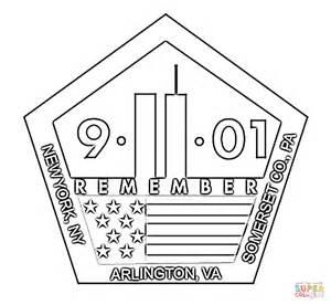 11th september memorial coloring online