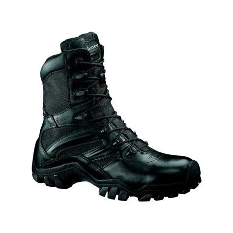 New Tactical Delta Black bates s delta 8 black side zip tactical work boots