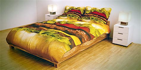 hamburger bed hamburger bed