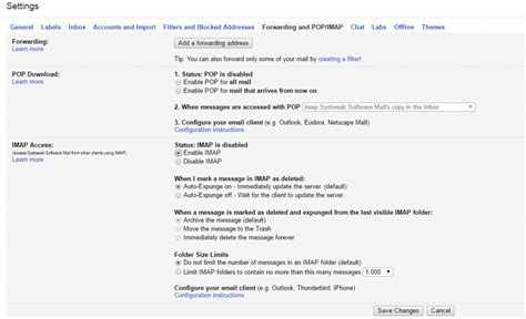 gmail settings how to use outlook with gmail import gmail to outlook